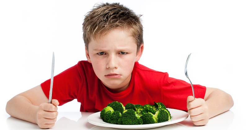 How To Get Your Picky Kid To Eat Their Vegetables
